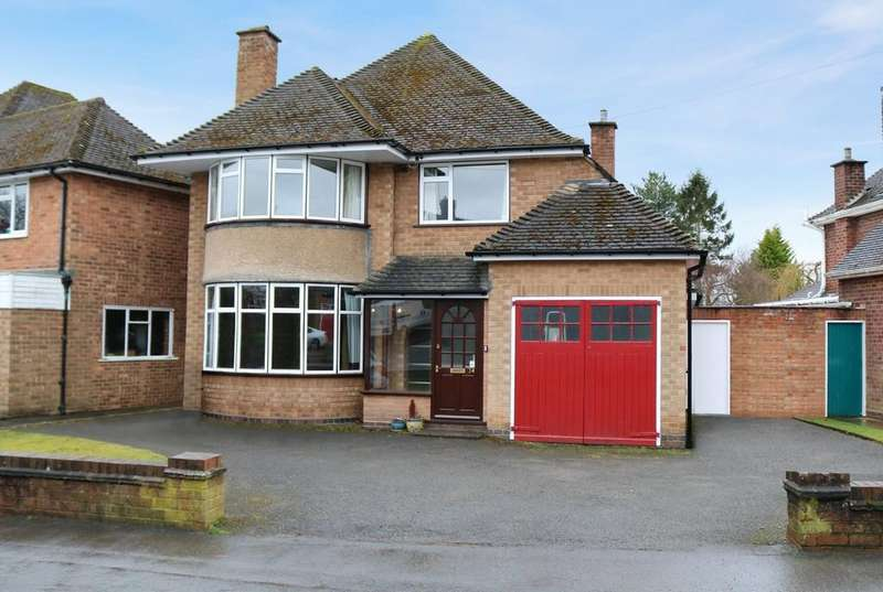 3 Bedrooms Detached House for sale in Hanbury Road, Dorridge