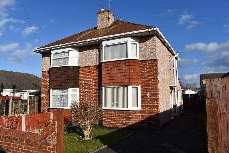 2 Bedrooms Semi Detached House for sale in Weaver Avenue, Rhyl