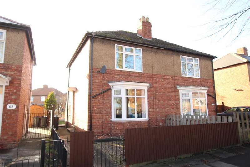 2 Bedrooms Semi Detached House for sale in The Leas, Darlington