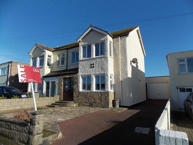 5 Bedrooms Semi Detached House for sale in Central Avenue, Telscombe Cliffs, East Sussex