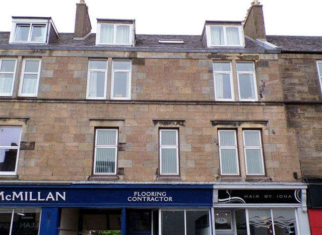 3 Bedrooms Flat for sale in Flat 1/1, 78 Longrow, Campbeltown, PA28 6DD
