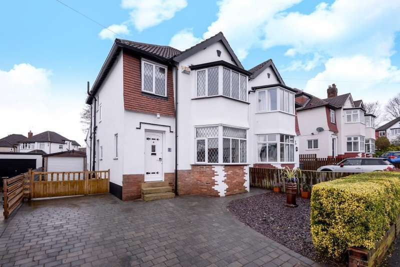3 Bedrooms Semi Detached House for sale in KINGS CROFT GARDENS, MOORTOWN, LEEDS, LS17 6PB