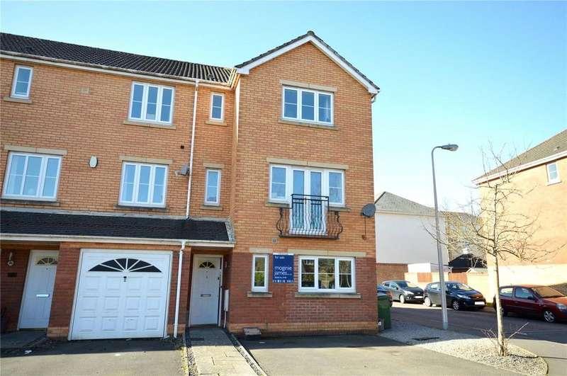 5 Bedrooms End Of Terrace House for sale in Blackberry Way, Pontprennau, Cardiff, CF23