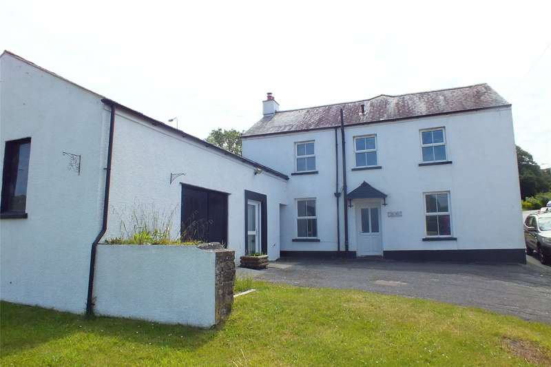4 Bedrooms Detached House for sale in Old Mill House, Milton, Tenby, Pembrokeshire