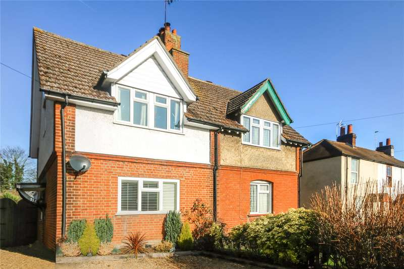 3 Bedrooms Semi Detached House for sale in Church Road, Addlestone, Surrey, KT15