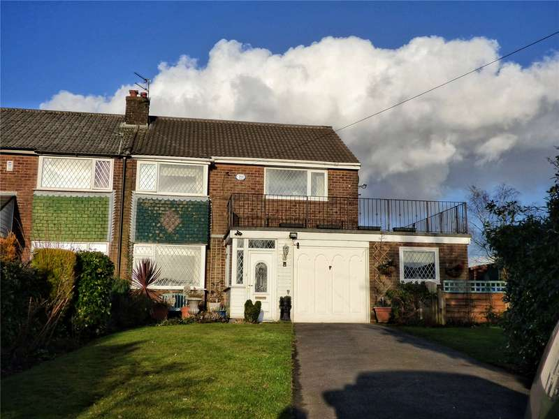3 Bedrooms Semi Detached House for sale in Heald Close, Littleborough, Rochdale, OL15