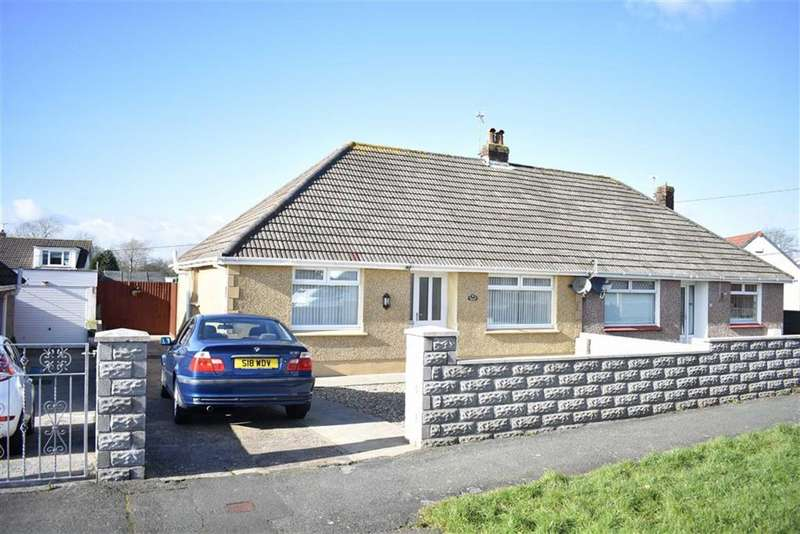 2 Bedrooms Semi Detached Bungalow for sale in Bryngwyn Avenue, Garden Village