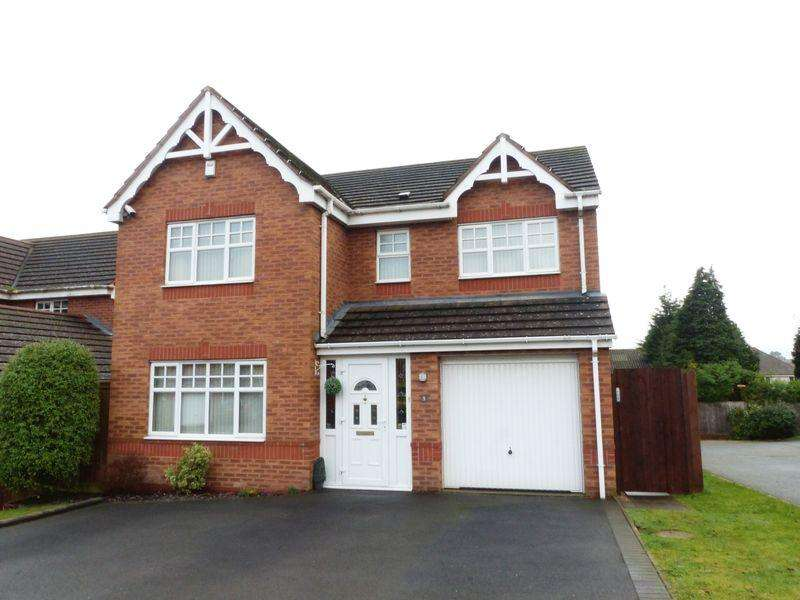 4 Bedrooms Detached House for sale in Blue Cedar Drive, Streetly