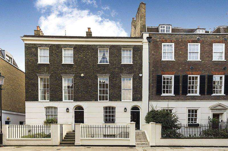 4 Bedrooms Terraced House for sale in Holland Street, London, W8