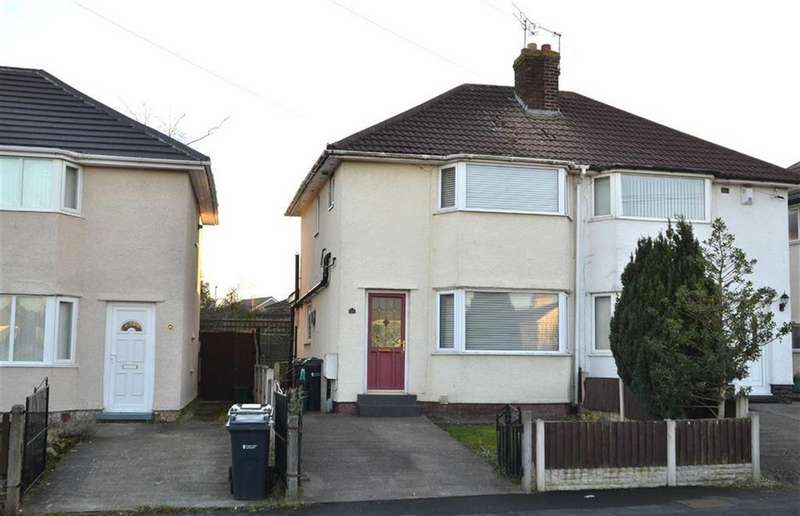3 Bedrooms Semi Detached House for sale in Walkers Lane, Little Sutton, CH66