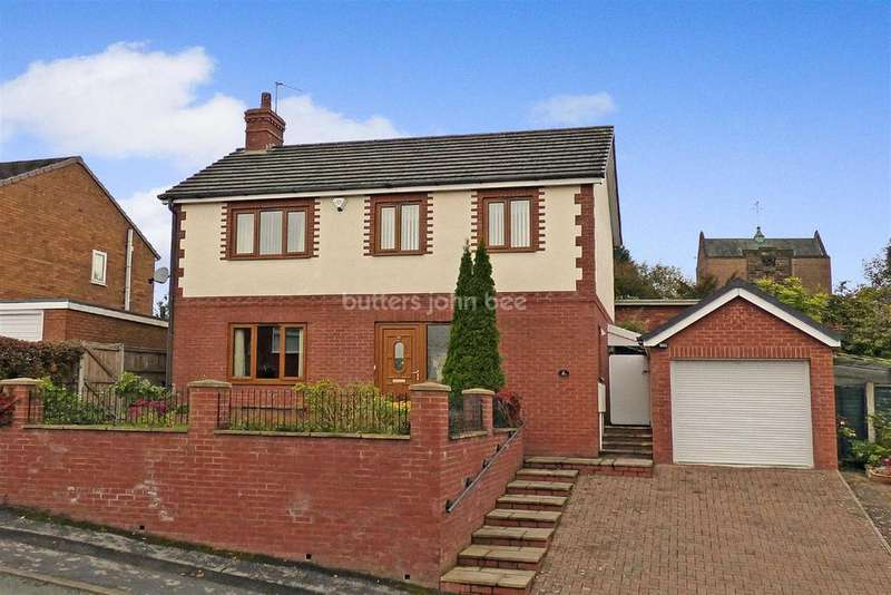 3 Bedrooms Detached House for sale in Sherwood Road, Macclesfield