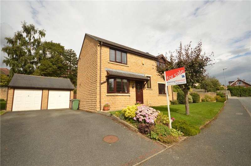 4 Bedrooms Detached House for sale in Oxford Avenue, Guiseley, Leeds, West Yorkshire