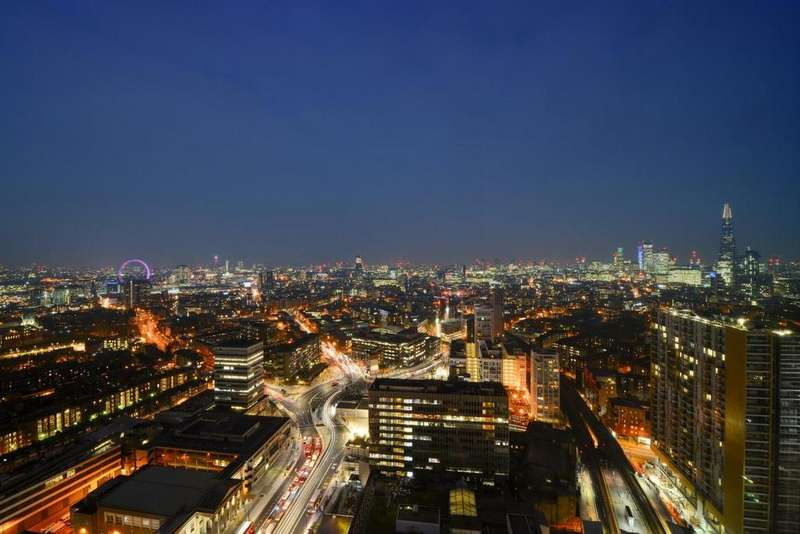 3 Bedrooms Penthouse Flat for sale in Walworth Road, Elephant Castle