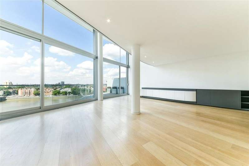 3 Bedrooms Flat for rent in Albion Riverside Building, 8 Hester Road, London, SW11