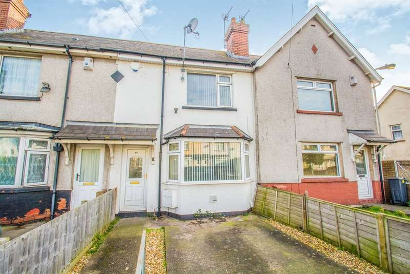 2 Bedrooms Terraced House for sale in Mercia Road, Cardiff