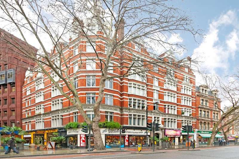1 Bedroom Flat for sale in Trentishoe Mansions, 90 Charing Cross Road, London, WC2H