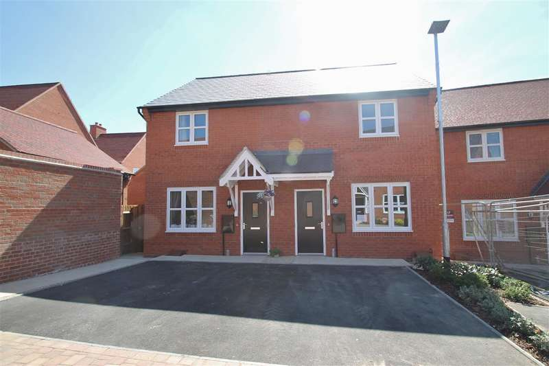 2 Bedrooms Semi Detached House for rent in Millground Field, Winslow
