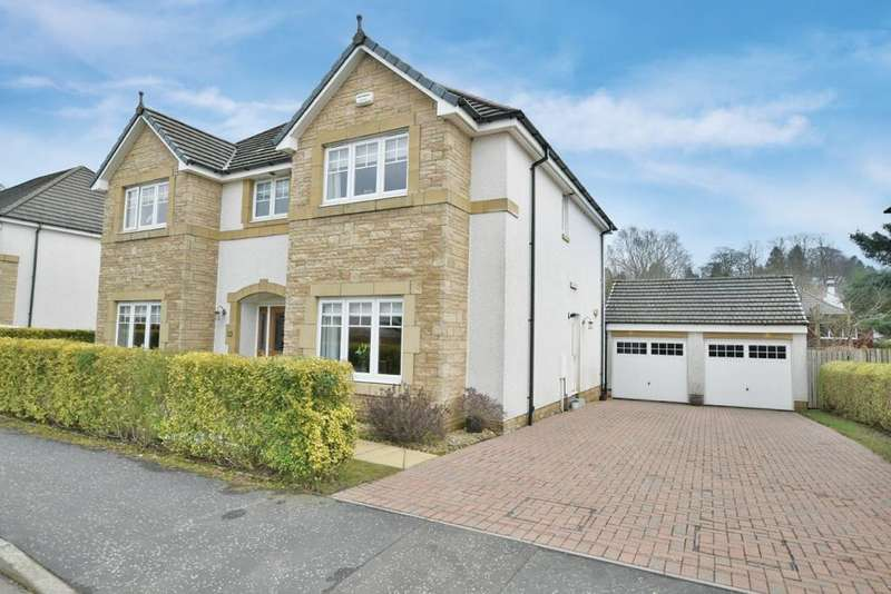 5 Bedrooms Detached House for sale in 24 Norman MacLeod Crescent, Bearsden, G61 3BF