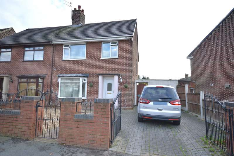 3 Bedrooms Semi Detached House for sale in Hillfoot Avenue, Hunts Cross, Liverpool, L25
