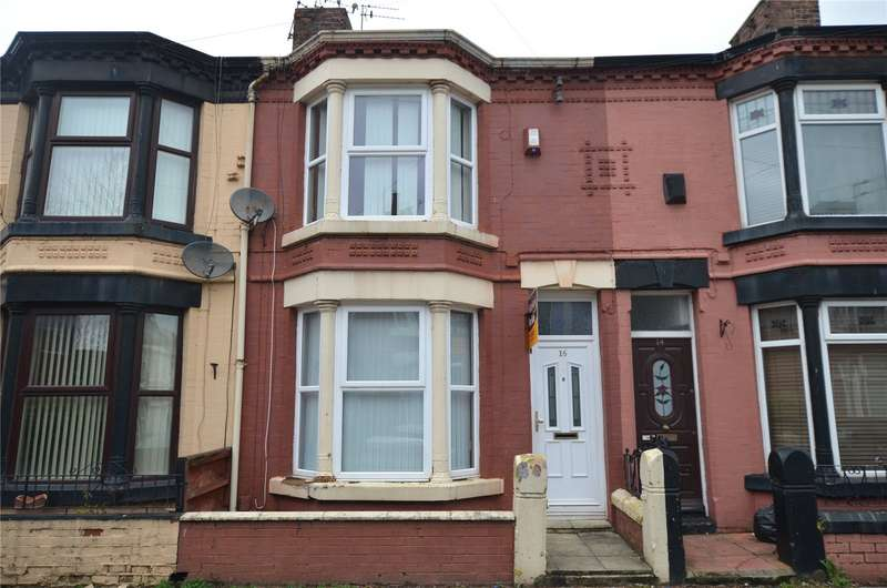 3 Bedrooms Terraced House for sale in Rutland Street, Bootle, Merseyside, L20