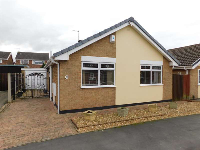 2 Bedrooms Detached Bungalow for sale in Huntingdon Drive, Castle Donington