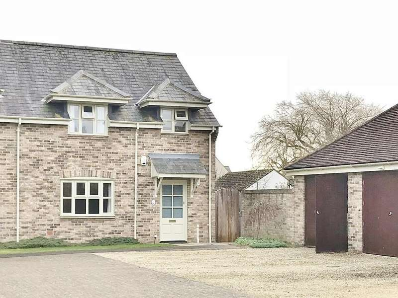 2 Bedrooms End Of Terrace House for sale in Abingdon Court Farm, Cricklade