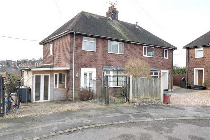 3 Bedrooms Semi Detached House for sale in Tenby Grove, Chesterton, Newcastle-under-Lyme