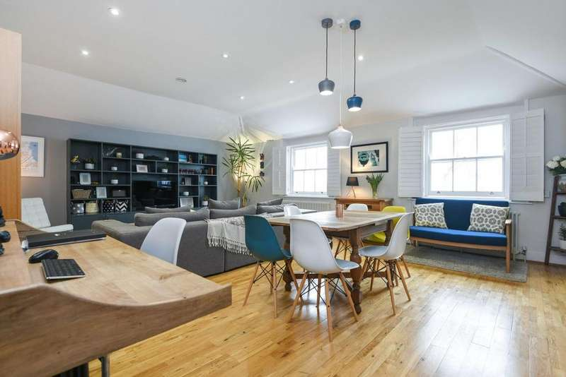 2 Bedrooms Flat for sale in Lee Terrace, Blackheath