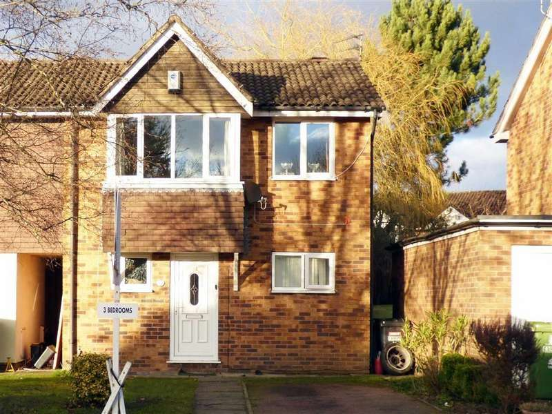 3 Bedrooms Terraced House for sale in Larchwood Drive, Wimslow, Cheshire