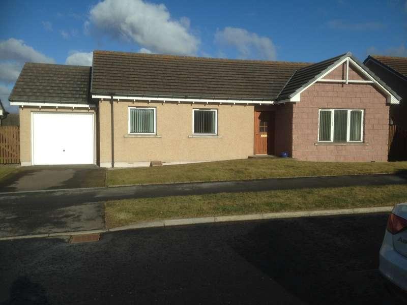 3 Bedrooms Detached Bungalow for sale in 22 Adamson Drive, Laurencekirk, AB30 1FP