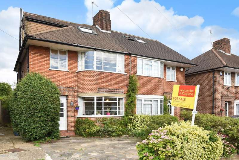 4 Bedrooms House for sale in Merrion Avenue, Stanmore, HA7