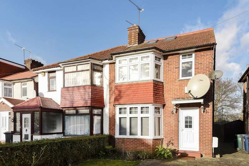 4 Bedrooms House for sale in Grampian Gardens,, Golders Green Estate, NW2