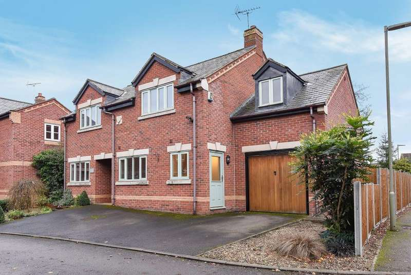 4 Bedrooms Detached House for sale in Firtree Close, Banbury, OX16