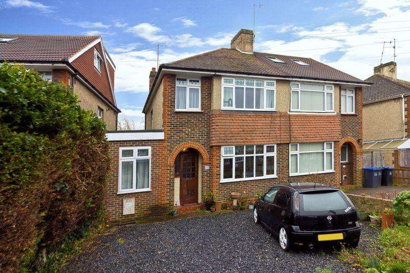 4 Bedrooms Semi Detached House for sale in Canterbury Road, Worthing