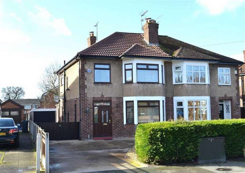 3 Bedrooms Semi Detached House for sale in Deeside, Whitby, CH65