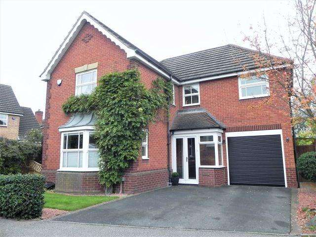 4 Bedrooms Detached House for sale in Hatherden Drive, Sutton Coldfield
