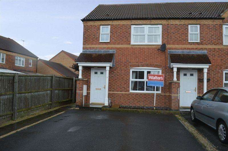 3 Bedrooms End Of Terrace House for sale in Tennyson Walk, CHERRY WILLINGHAM