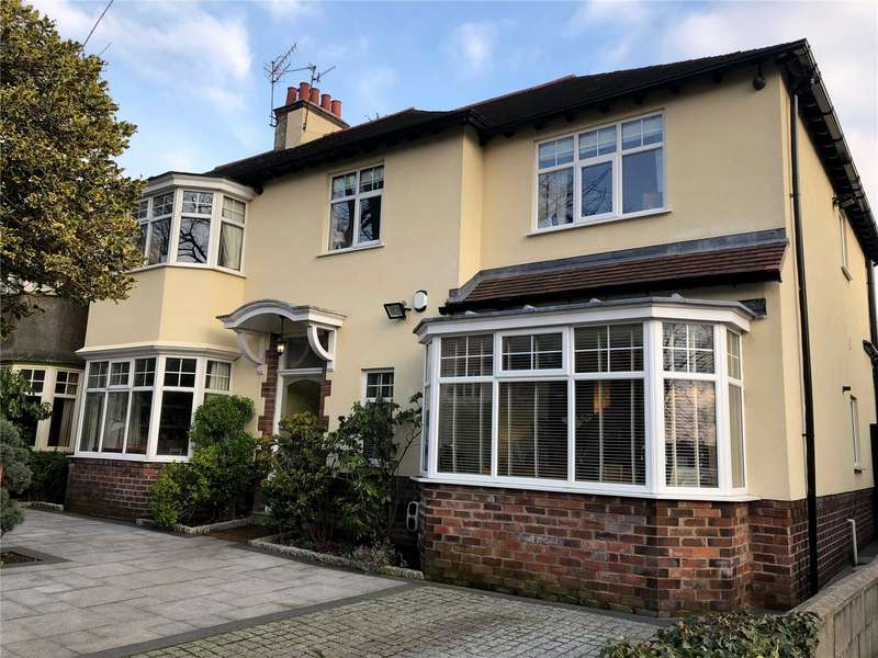 4 Bedrooms Semi Detached House for sale in Montclair Drive, Mossley Hill, Liverpool, L18