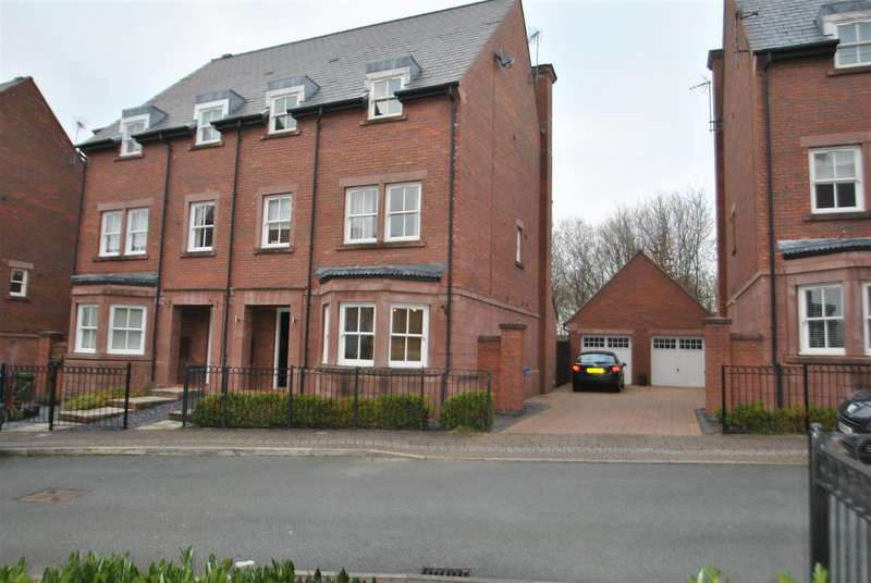 5 Bedrooms Semi Detached House for sale in Bretland Drive, GRAPPENHALL HEYS, Warrington, WA4