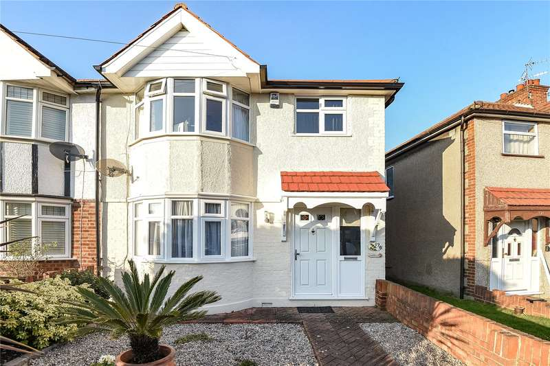 3 Bedrooms End Of Terrace House for sale in Ferrymead Avenue, Greenford, Middlesex, UB6
