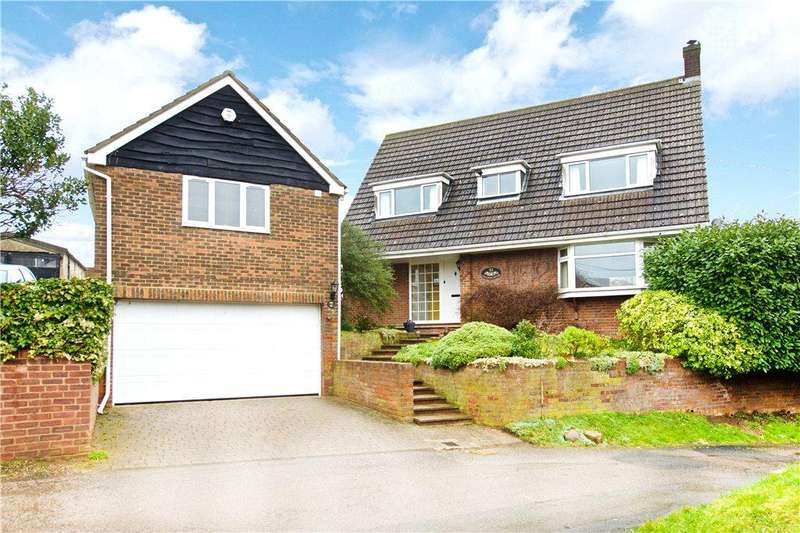 4 Bedrooms Detached House for sale in Conger Lane, Toddington, Dunstable, Bedfordshire