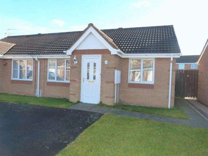 2 Bedrooms Bungalow for sale in Lavender Court, Ashington, Two Bedroom Semi-Detached Bungalow