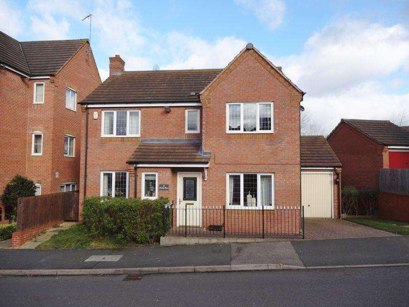 4 Bedrooms Detached House for sale in Lowry Close, Corby