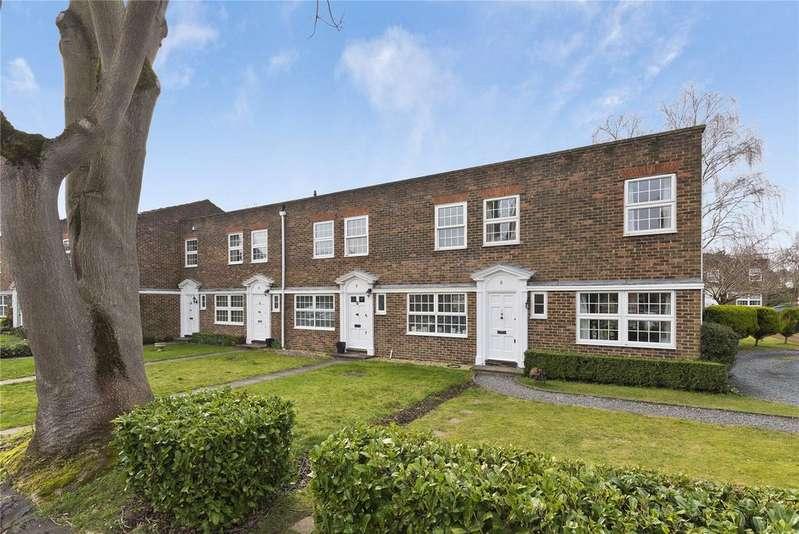 3 Bedrooms Terraced House for sale in Hanover Walk, Weybridge, KT13