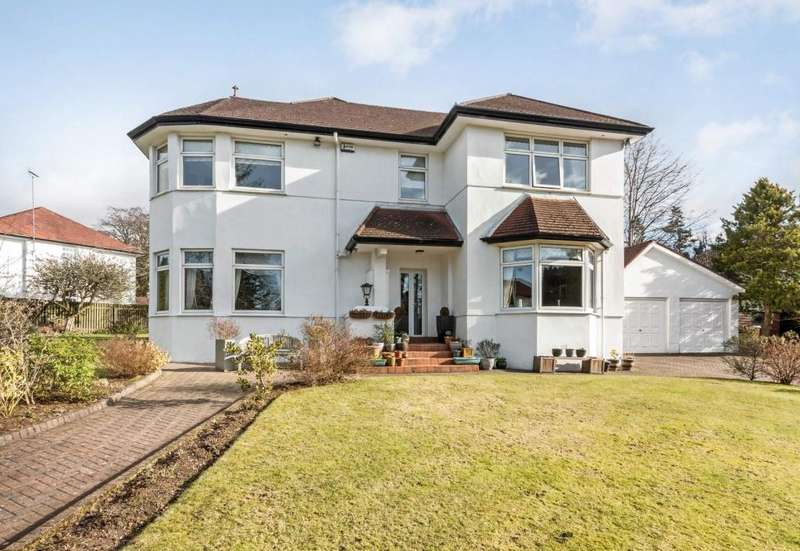 4 Bedrooms Detached Villa House for sale in Lochbroom Drive, Newton Mearns, G77 5DY