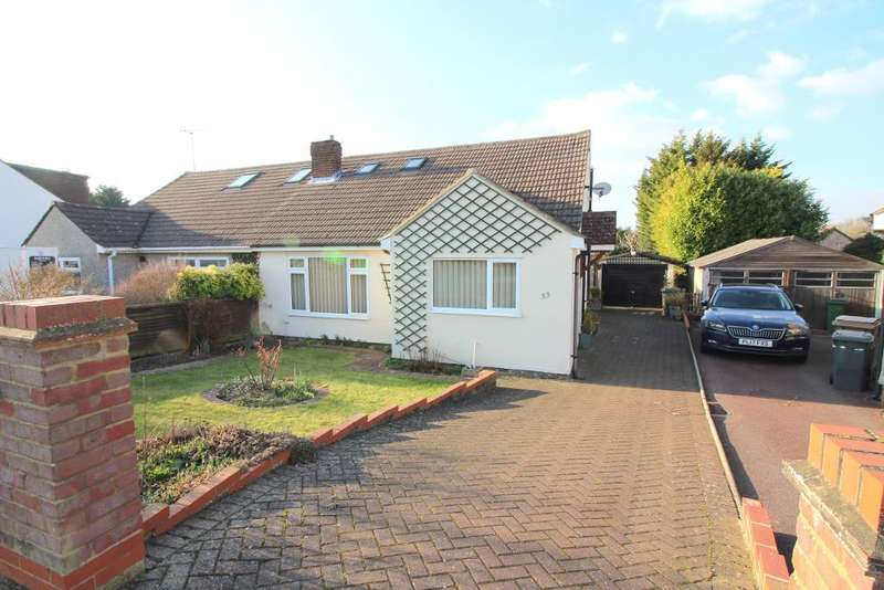3 Bedrooms Semi Detached House for sale in The Furrows, Luton, Bedfordshire, LU3 2LF