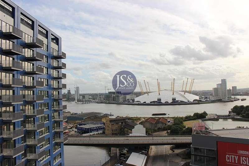 2 Bedrooms Flat for sale in 15 Botanic Square, London City Island, London, E14 0LG