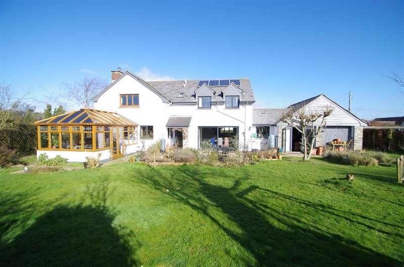 4 Bedrooms Detached House for sale in Georgeham, Braunton