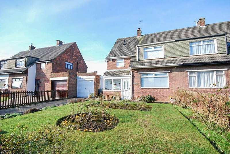 3 Bedrooms Semi Detached House for sale in Kasanga, Bridle Path, East Boldon