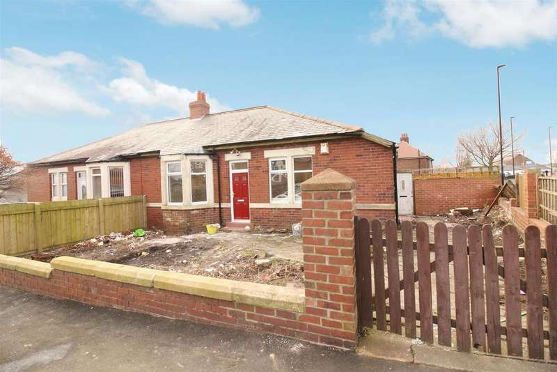 3 Bedrooms Semi Detached Bungalow for sale in Balfour Road, Newcastle Upon Tyne